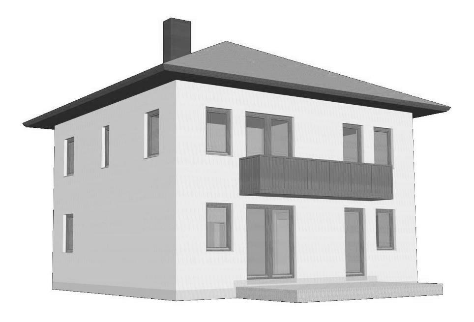 Abbildung 4-06: Perspektivische Darstellung der Gebäudebeispiele (1)