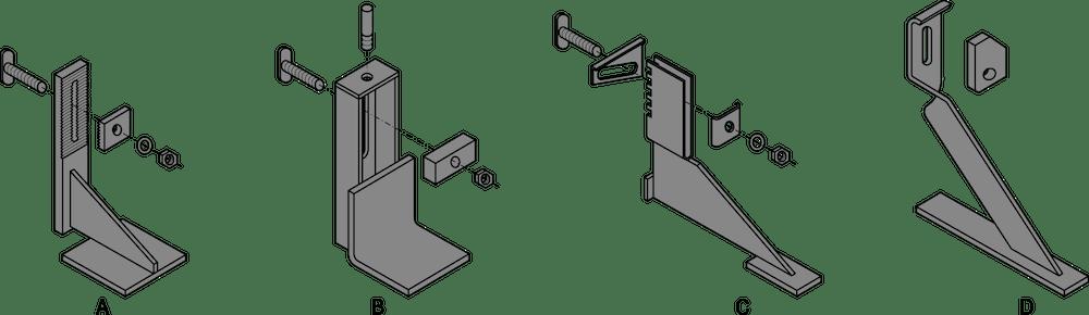Beispiele für Konsolen – ÖNORM EN 845-1
