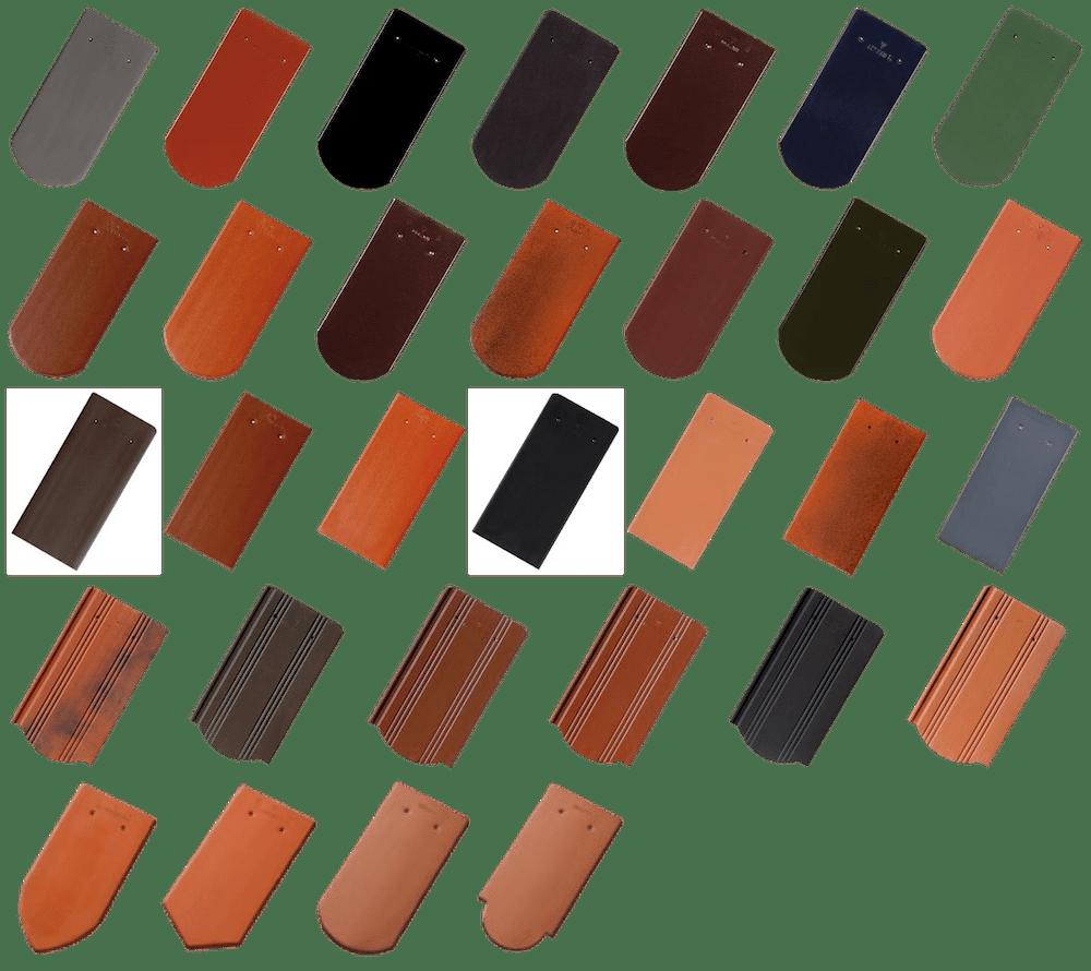 Ziegeldach – Biberschwanzziegel und Taschenziegel