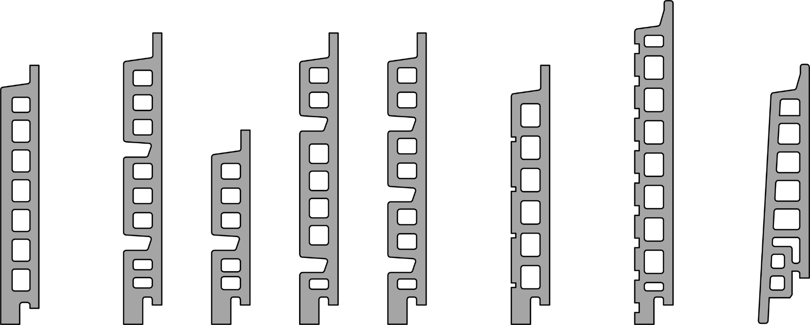 Formate und Formen von Ziegel-Fassadenplatten