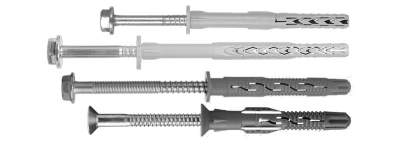 Beispiel 7-14: Kunststoff-Rahmendübel als Schraub- bzw. Nageldübel