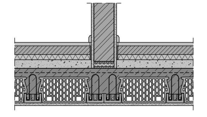 Abbildung 7-16: Ziegeldecken – Abfangung von Wänden in Deckenspannrichtung