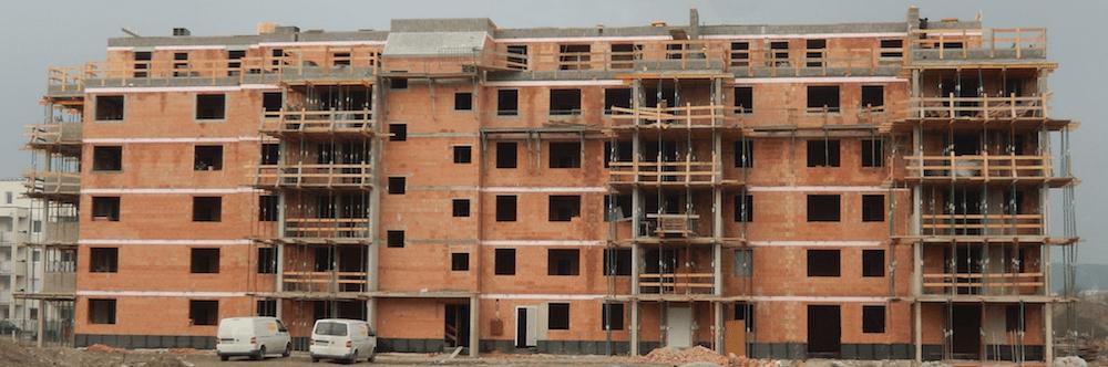 Bild 7-01: Ziegelrohbau Wohnhausanlage