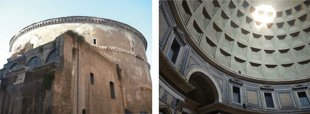 Pantheon (120—125 n. Chr.), Rom, I