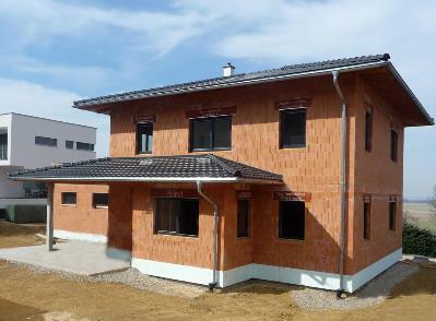Bild 7-02 bis 07: Klein- und großvolumige Ziegelrohbauten aus Planziegelmauerwerk