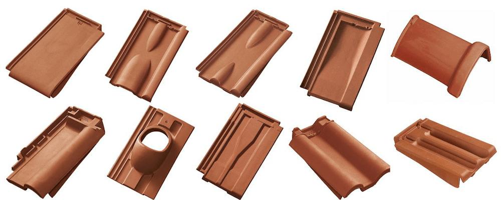 Ziegeldach – Formziegel für Falzziegeldeckungen