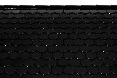 Bild 7-65 bis 67: Ziegeldeckung – Dachziegel Bieber natur/schwarz/dunkelbraun