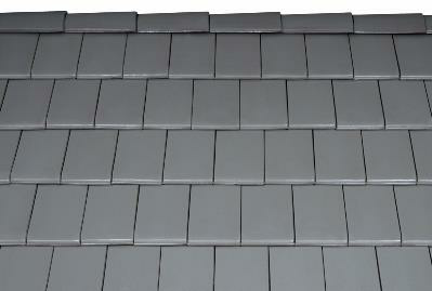 Bild 7-68 bis 70: Ziegeldeckung – Dachziegel Figaro natur/granit/naturrot