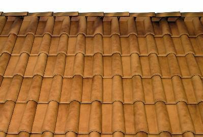 Bild 7-77 bis 79: Ziegeldeckung – Dachziegel Carmen sand-antik/naturrot/schwarz