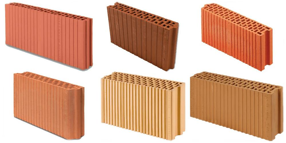 Hochlochziegel für nichttragende Wände (Wanddicken 6,5 bis 12 cm)