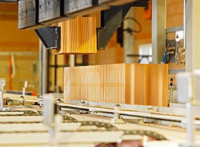Bild 7-47 bis 52: Produktion und Montage Ziegelfertigteile